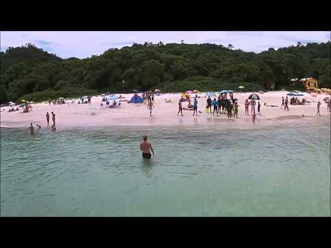 Ilha do Campeche Florianopolis Santa Catarina DRONE