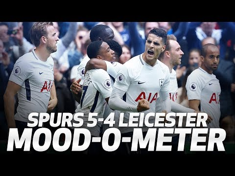SPURS 5-4 LEICESTER   😅😜 THE MOOD-O-METER 😢😍 (видео)