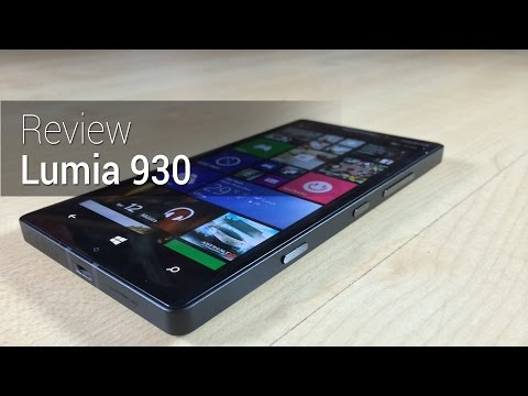Prova em vídeo: Lumia 930 | Tudocelular.com (видео)
