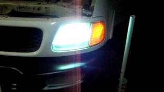 1997 Ford F150 4x4 8000k HID kit