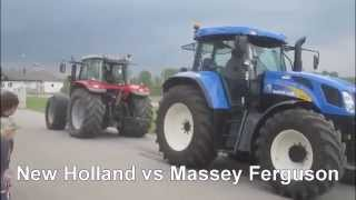John deere vs New Holland