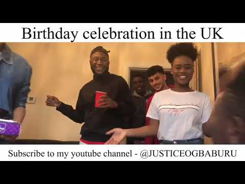Birthday messages - So funny-birthday wishes in the U.K. and Nigeria-must watch