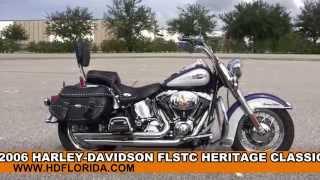 9. Used 2006 Harley Davidson Heritage Classic for sale in Tampa Fl