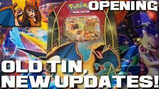Post-Holiday Update! Opening a Charizard EX Tin of Pokemon Cards! by Flammable Lizard