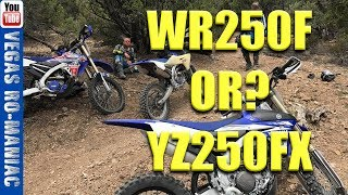 4. �Yamaha WR250F VS YZ250FX -  ARE they the SAME BIKE!?