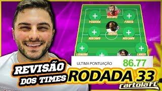 Chipart - REVISÃO #33 RODADA CARTOLA FC  MUDANÇAS NECESSÁRIAS!