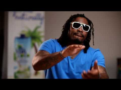 Marshawn Lynch Vita Coco commercial bloopers