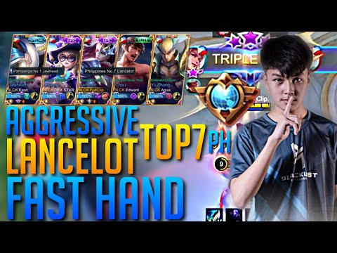 Powerful Hand Control With Perfect Combo | Aggresive TOP 7 PH Lancelot by Full Clip