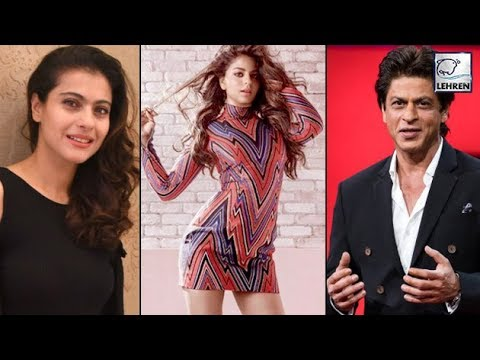 Shahrukh Khan's Best Friend Kajol Reacts On Suhana