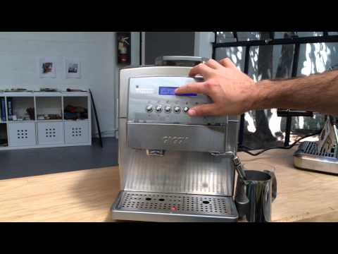 Gaggia Titanium Display