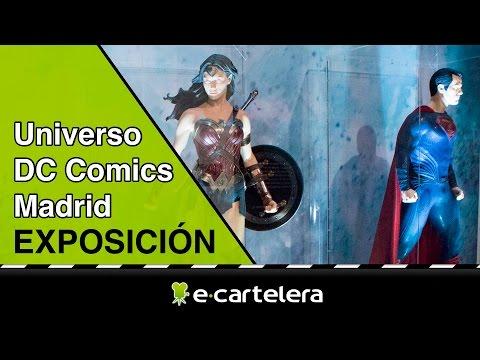 Exposición Universo DC Comics Madrid
