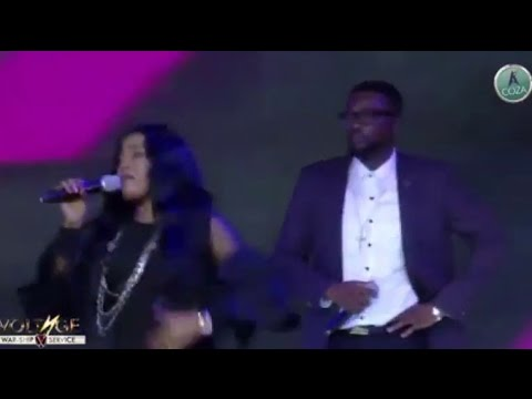 MIKE ABDUL and MONIQUE HOT COLLABO PRAISE AND WAR-SHIP IN COZA VOLTAGE WAR-SHIP SERVICE MAY 16 2017