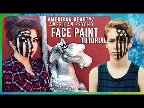 "Fall Out Boy ""American Beauty/American Psycho"" FACE PAINT Tutorial ☆ 