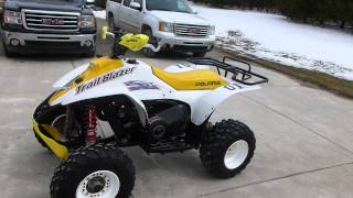 10. 2001 Polaris Trailblazer 250 Walkaround