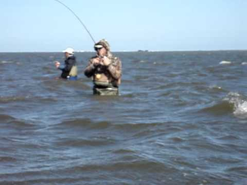 8.1 Pound Speckled Trout Wade Fishing – Laguna Madre, TX