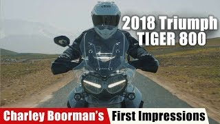 10. Charley Boorman Shares First Impressions on the 2018 Triumph Tiger 800