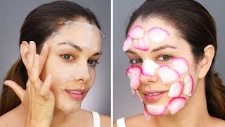 Video DIY LIFE HACKS | DIY Face Masks and More Beauty Hacks by Blossom MP3, 3GP, MP4, WEBM, AVI, FLV Juli 2018