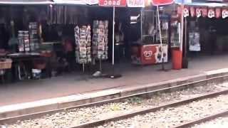 Pak Khwae Thailand  City pictures : Kanchanaburi Province, River Kwai Station the trip back to Bangkok, Thailand. ( 33 )