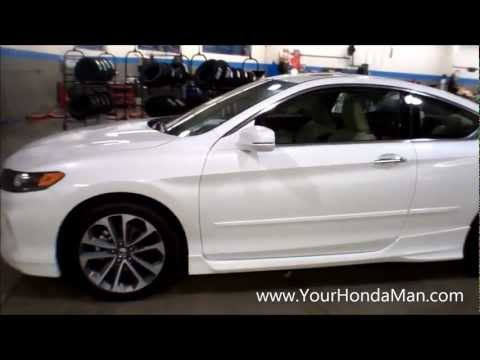 ex rims - Here's a quick video of the 2013 Honda accord with HFP package.