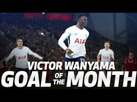 GOAL OF THE MONTH | VICTOR WANYAMA V LIVERPOOL