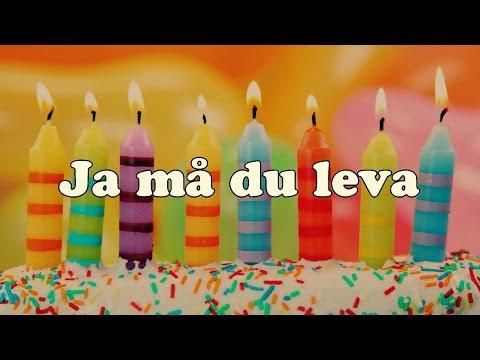 Ja må du leva - Swedish Birthday Song [Piano Cover]