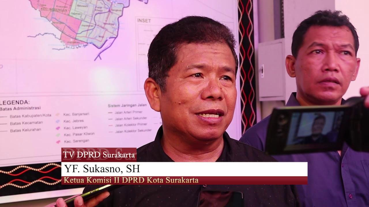 Rabu 13 November 2019 Sidak Komisi II Pencemaran Kali Anyar