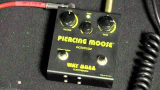 Original 1990s Way Huge Piercing Moose Octave Fuzz Demo