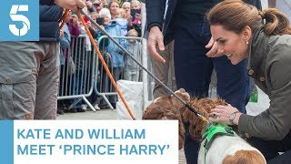 Prince William and Kate Middleton visit Keswick in Cumbria | 5 News