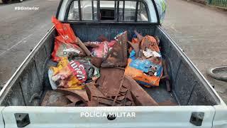 Sete presos por furtar 800kg de ferro em Sorocaba