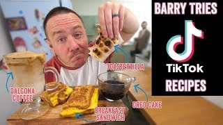 4 Viral TikTok recipes put to the test | Barry tries #26 by  My Virgin Kitchen