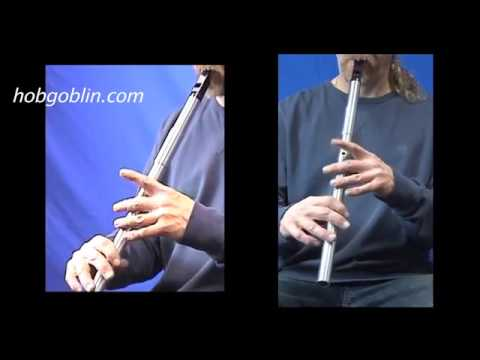 Kerry Optima Low D Whistle played by Phil Hardy