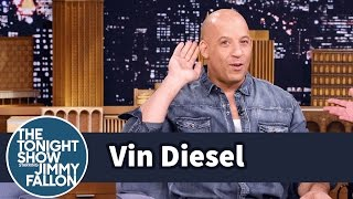 The Tonight Show Starring Jimmy Fallon - Vin Diesel Grew Up In A Haunted Building