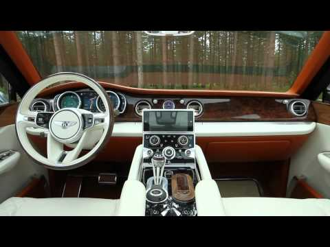 Bentley EXP 9 F SUV Concept | Video