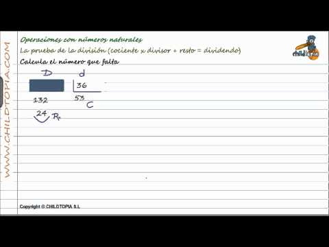 Vídeos Educativos.,Vídeos:Prueba de la división 1