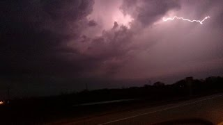 Tornado Storm Chase April 9th, 2015 Woodstock, IL Footage (Trailer)