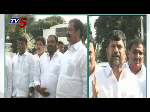 TDP complains on Errabelli security | Threat from Naxals : TV5 News