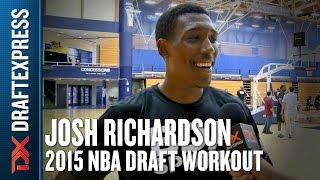 Josh Richardson 2015 NBA Draft Workout Video