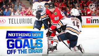 Nothing But Goals Off the Draw | 2019-20 NHL Season by NHL