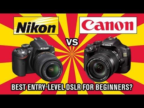 Nikon vs Canon – Best DSLR for beginners?