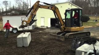 2. Ultimate Mini Excavator challenge Kubota U55 vs CAT 305  STRENGTH TEST -