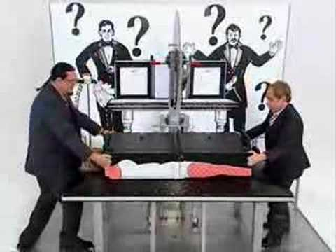 Penn and Teller and the Buzz Saw