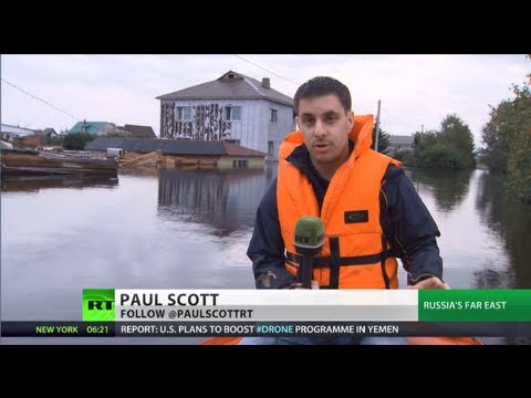 Russia's - There's no relief in sight for the tens of thousands of people living in Russia's Far East battered by the worst flooding in more than a century. Water level...
