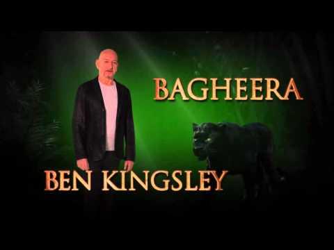 The Jungle Book (Ben Kingsley is Bagheera Spot)