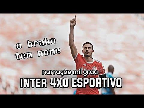 INTERNACIONAL 4X0 ESPORTIVO - NARRAÇÃO INTER MIL GRAU | CAMP. GAÚCHO 2020