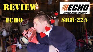 3. ECHO SRM 225 Trimmer Review Home Depot Purchase