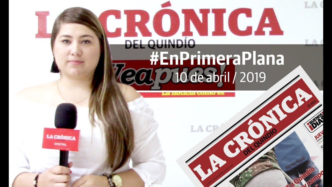En Primera Plana: lo que será noticia este jueves 11 de abril