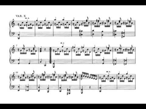 variations - Clara Haskil plays Mozart's 12 Variations in C over the french song