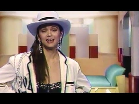 Nia Peeples  MTV VJ Clips (1988)