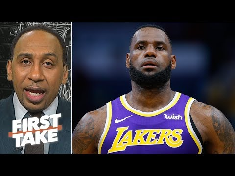 LeBron's legacy will take a hit if the Lakers don't make the playoffs – Stephen A.   First Take