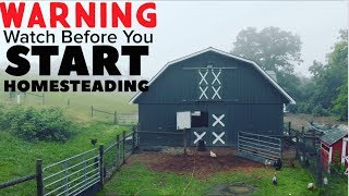 8. My Warning to All Of You About To Start Homesteading